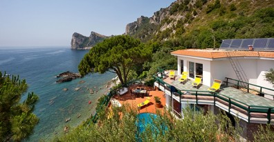 Amalfi coast villa for rent: Massa Lubrense